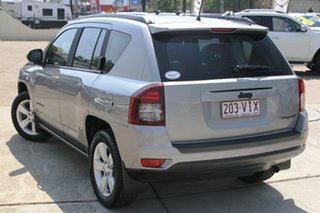 2014 Jeep Compass MK MY14 Blackhawk CVT Auto Stick Billet Silver 6 Speed Constant Variable Wagon.