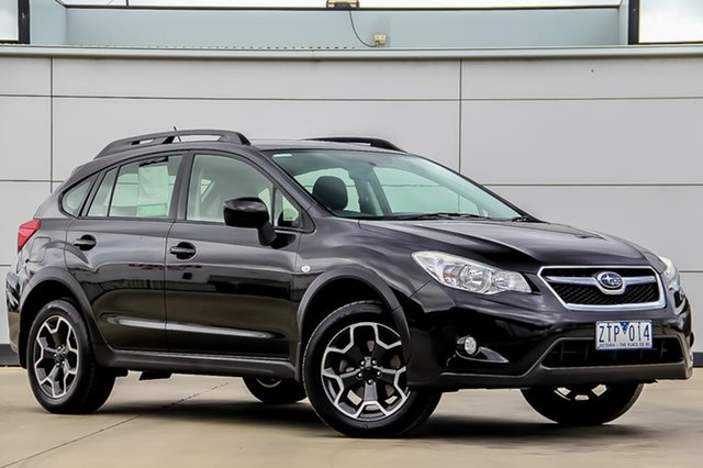 Used Subaru XV G4X MY14 2.0i Lineartronic AWD, 2013 Subaru XV G4X MY14 2.0i Lineartronic AWD Crystal Black 6 Speed Constant Variable Wagon