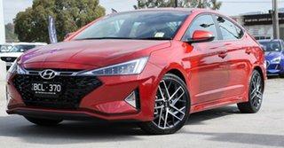 2019 Hyundai Elantra AD.2 MY19 Sport DCT Lava Orange 7 Speed Sports Automatic Dual Clutch Sedan