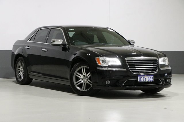 Used Chrysler 300 MY12 Limited, 2013 Chrysler 300 MY12 Limited Black 8 Speed Automatic Sedan