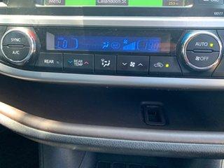2015 Toyota Kluger GSU50R Grande 2WD Black 6 Speed Sports Automatic Wagon