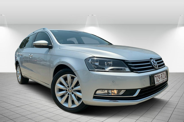 Used Volkswagen Passat Type 3C MY11 118TSI DSG, 2011 Volkswagen Passat Type 3C MY11 118TSI DSG Silver 7 Speed Sports Automatic Dual Clutch Wagon