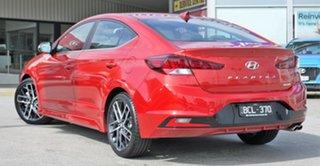 2019 Hyundai Elantra AD.2 MY19 Sport DCT Lava Orange 7 Speed Sports Automatic Dual Clutch Sedan.