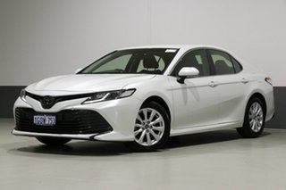 2018 Toyota Camry ASV70R Ascent Pearl White 6 Speed Automatic Sedan.