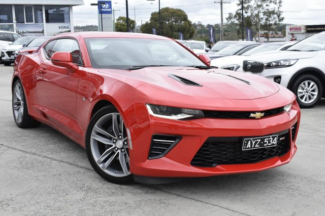 Used Chevrolet Camaro MY18 2SS, 2018 Chevrolet Camaro MY18 2SS Red 8 Speed Sports Automatic Coupe