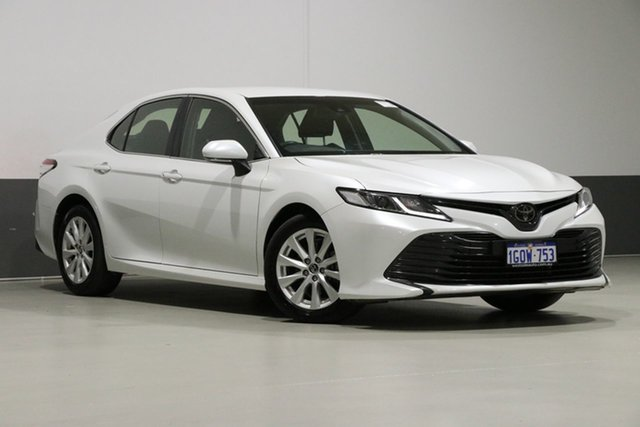 Used Toyota Camry ASV70R Ascent, 2018 Toyota Camry ASV70R Ascent Pearl White 6 Speed Automatic Sedan