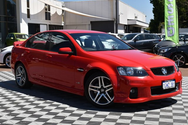 Used Holden Commodore VE II MY12 SV6, 2012 Holden Commodore VE II MY12 SV6 Red 6 Speed Sports Automatic Sedan