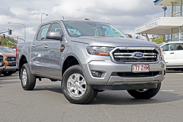 Used Ford Ranger PX MkIII 2019.75MY XLS Pick-up Double Cab, 2019 Ford Ranger PX MkIII 2019.75MY XLS Pick-up Double Cab Aluminium 6 Speed Sports Automatic