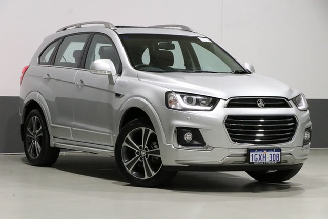 Used Holden Captiva CG MY18 7 LTZ (AWD), 2017 Holden Captiva CG MY18 7 LTZ (AWD) Silver 6 Speed Automatic Wagon