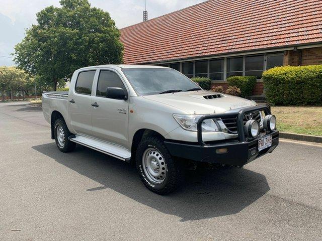 Used Toyota Hilux KUN26R SR, 2014 Toyota Hilux KUN26R SR Silver 5 Speed Automatic Dual Cab