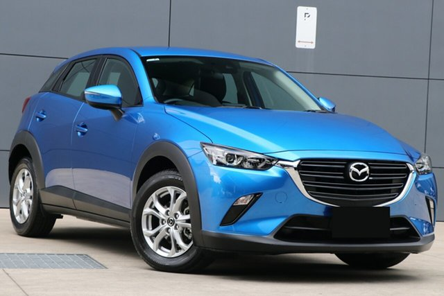 Used Mazda CX-3 DK2W7A Maxx SKYACTIV-Drive FWD Sport, 2019 Mazda CX-3 DK2W7A Maxx SKYACTIV-Drive FWD Sport Dynamic Blue 6 Speed Sports Automatic Wagon
