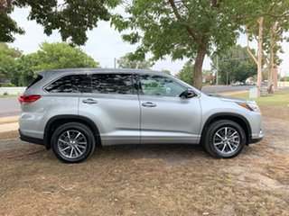 2018 Toyota Kluger GSU50R GXL 2WD Silver 8 Speed Sports Automatic Wagon.