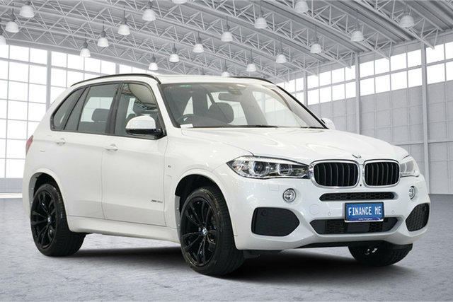 Used BMW X5 F15 xDrive30d, 2018 BMW X5 F15 xDrive30d White 8 Speed Sports Automatic Wagon