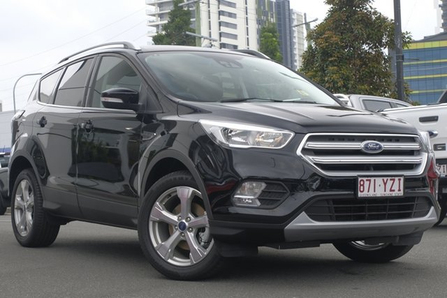 Demo Ford Escape ZG 2019.25MY Trend 2WD, 2019 Ford Escape ZG 2019.25MY Trend 2WD Shadow Black 6 Speed Sports Automatic Wagon