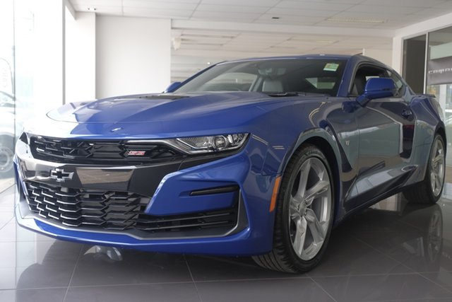 Demo Chevrolet Camaro MY19 2SS, 2019 Chevrolet Camaro MY19 2SS Riverside Blue 10 Speed Sports Automatic Coupe