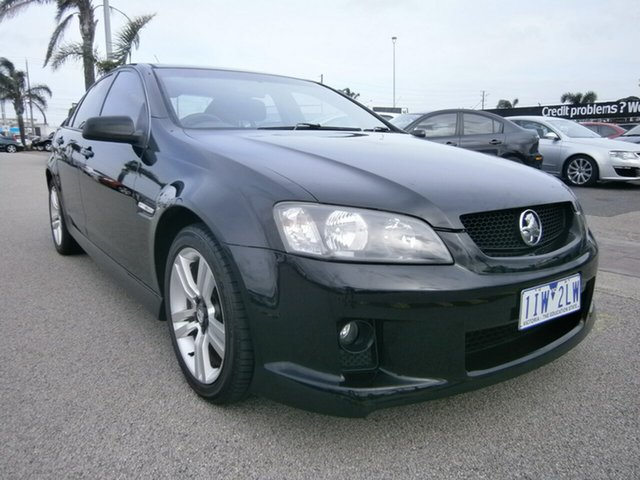 Used Holden Commodore VE SV6, 2007 Holden Commodore VE SV6 Black 5 Speed Sports Automatic Sedan