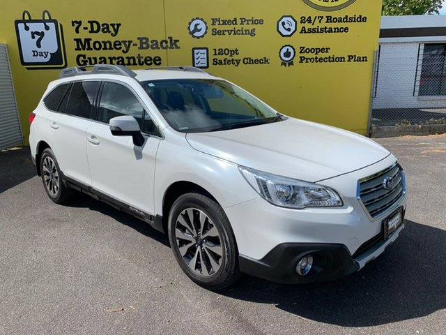 Used Subaru Outback B6A MY16 2.5i CVT AWD, 2016 Subaru Outback B6A MY16 2.5i CVT AWD White 6 Speed Constant Variable Wagon
