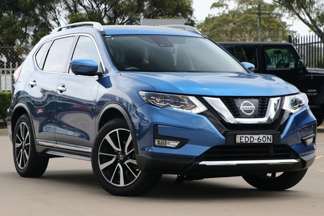 Used Nissan X-Trail T32 Series II Ti X-tronic 4WD, 2019 Nissan X-Trail T32 Series II Ti X-tronic 4WD Marine Blue 7 Speed Constant Variable Wagon