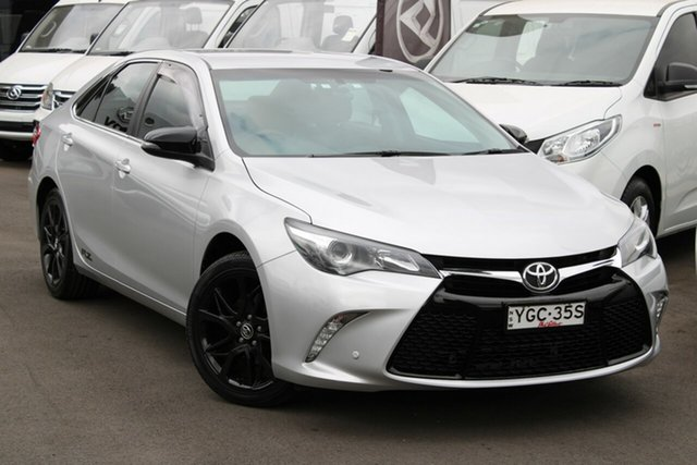 Used Toyota Camry ASV50R RZ, 2017 Toyota Camry ASV50R RZ Silver 6 Speed Sports Automatic Sedan