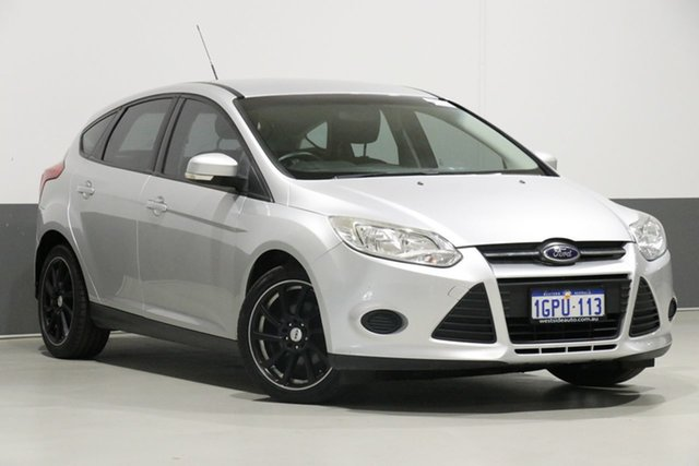 Used Ford Focus LW MK2 Ambiente, 2013 Ford Focus LW MK2 Ambiente Silver 5 Speed Manual Hatchback