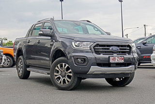 2019 Ford Ranger PX MkIII 2019.75MY Wildtrak Pick-up Double Cab Meteor Grey 6 Speed Sports Automatic.