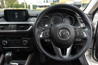 2016 Mazda 6 GJ1032 Atenza SKYACTIV-Drive White 6 Speed Sports Automatic Sedan