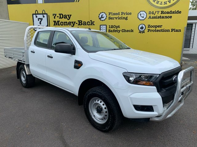 Used Ford Ranger PX MkII XL Double Cab, 2017 Ford Ranger PX MkII XL Double Cab White 6 Speed Sports Automatic Cab Chassis