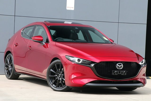 Used Mazda 3 BP2HLA G25 SKYACTIV-Drive Astina, 2019 Mazda 3 BP2HLA G25 SKYACTIV-Drive Astina Soul Red Crystal 6 Speed Sports Automatic Hatchback