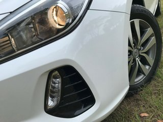 2018 Hyundai i30 PD2 MY18 Active D-CT Polar White 7 Speed Sports Automatic Dual Clutch Hatchback