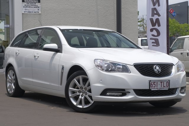Used Holden Commodore VF MY14 International Sportwagon, 2013 Holden Commodore VF MY14 International Sportwagon White 6 Speed Sports Automatic Wagon