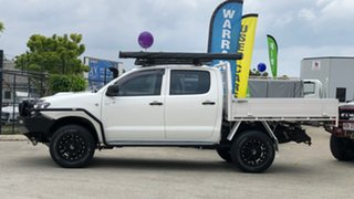 2008 Toyota Hilux KUN26R 08 Upgrade SR (4x4) White 5 Speed Manual Dual Cab Pick-up