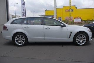 2013 Holden Commodore VF MY14 International Sportwagon White 6 Speed Sports Automatic Wagon.
