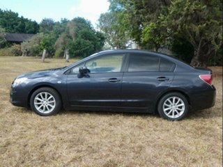 2012 Subaru Impreza MY12 2.0I (AWD) Dark Blue Continuous Variable Sedan