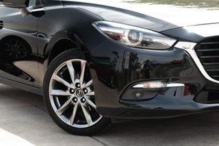 2018 Mazda 3 BN5438 SP25 SKYACTIV-Drive Astina Black 6 Speed Sports Automatic Hatchback.