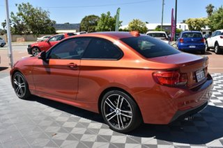 2018 BMW 2 Series F22 LCI 230i M Sport Orange 8 Speed Sports Automatic Coupe