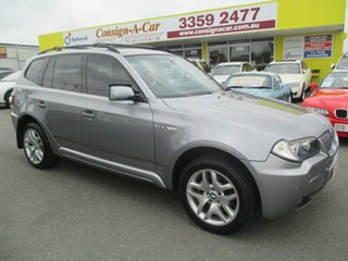 2007 BMW X3 E83 MY07 si Steptronic Grey 6 Speed Sports Automatic Wagon.