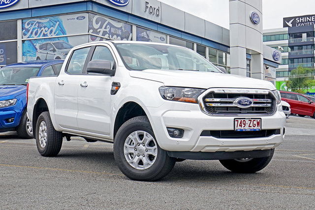 Used Ford Ranger PX MkIII 2019.75MY XLS Pick-up Double Cab, 2019 Ford Ranger PX MkIII 2019.75MY XLS Pick-up Double Cab White 6 Speed Sports Automatic Utility