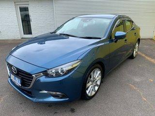 2017 Mazda 3 BN5238 SP25 SKYACTIV-Drive Blue 6 Speed Sports Automatic Sedan.
