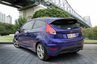 2013 Ford Fiesta WZ ST Blue 6 Speed Manual Hatchback.