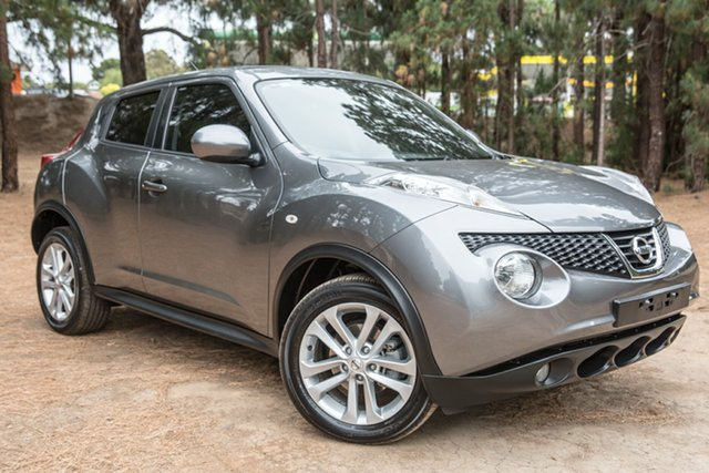 Used Nissan Juke F15 MY14 ST 2WD, 2013 Nissan Juke F15 MY14 ST 2WD Grey 1 Speed Constant Variable Hatchback