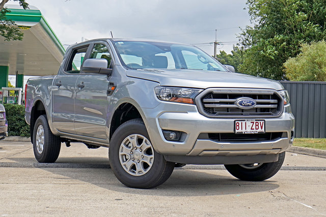 Used Ford Ranger PX MkIII 2019.75MY XLS Pick-up Double Cab, 2019 Ford Ranger PX MkIII 2019.75MY XLS Pick-up Double Cab Silver 6 Speed Sports Automatic Utility