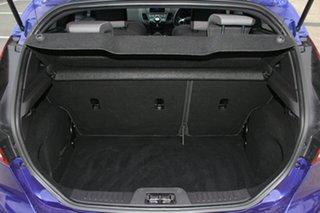 2013 Ford Fiesta WZ ST Blue 6 Speed Manual Hatchback