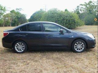 2012 Subaru Impreza MY12 2.0I (AWD) Dark Blue Continuous Variable Sedan.