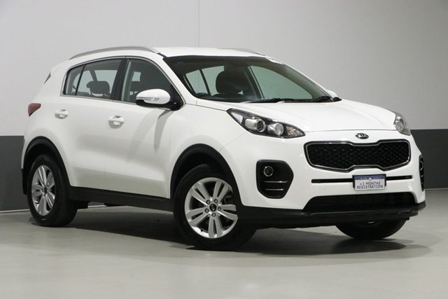 Used Kia Sportage QL MY16 SI (FWD), 2016 Kia Sportage QL MY16 SI (FWD) White 6 Speed Automatic Wagon