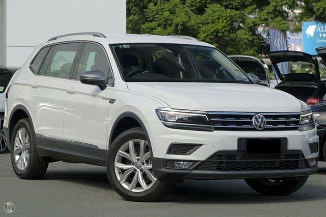 Demo Volkswagen Tiguan 5N MY19 132TSI Comfortline DSG 4MOTION Allspace, 2018 Volkswagen Tiguan 5N MY19 132TSI Comfortline DSG 4MOTION Allspace Pure White 7 Speed