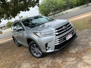 2018 Toyota Kluger GSU50R GXL 2WD Silver 8 Speed Sports Automatic Wagon