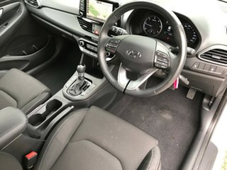 2018 Hyundai i30 PD2 MY18 Active D-CT Polar White 7 Speed Sports Automatic Dual Clutch Hatchback.