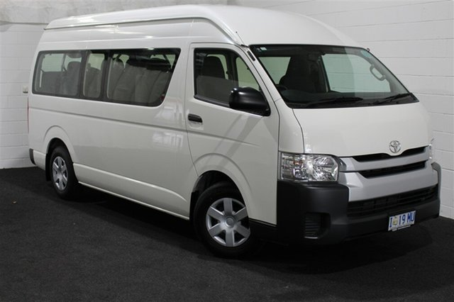 Used Toyota HiAce KDH223R Commuter High Roof Super LWB, 2016 Toyota HiAce KDH223R Commuter High Roof Super LWB White 5 Speed Manual Bus