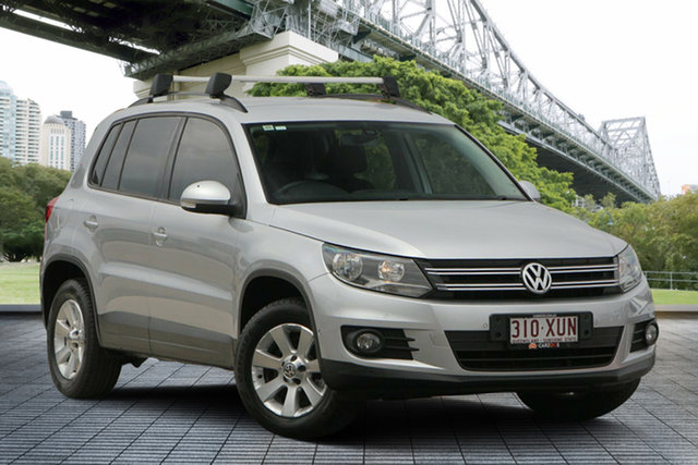 Used Volkswagen Tiguan 5N MY12.5 132TSI Tiptronic 4MOTION Pacific, 2012 Volkswagen Tiguan 5N MY12.5 132TSI Tiptronic 4MOTION Pacific Silver 6 Speed Sports Automatic