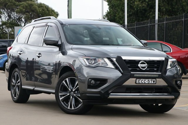 Used Nissan Pathfinder MY19 TI (4WD), 2019 Nissan Pathfinder MY19 TI (4WD) Gun Metal Continuous Variable Wagon